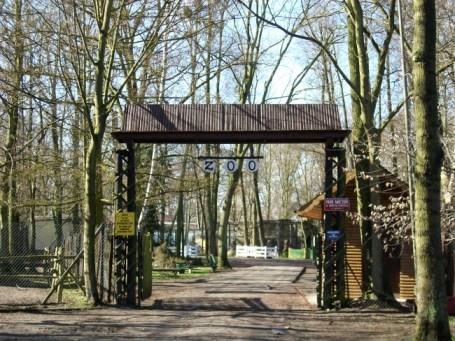 Zoo Nowy Tomyśl - wejście