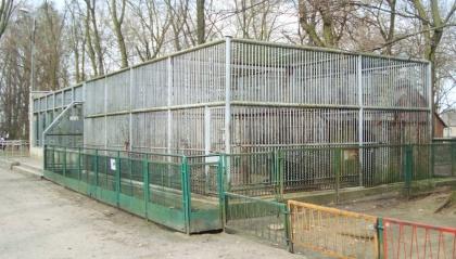 Minizoo Leszno - pawilon niedźwiedzi brunatnych