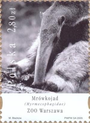 Mrówkojad - znaczek pocztowy
