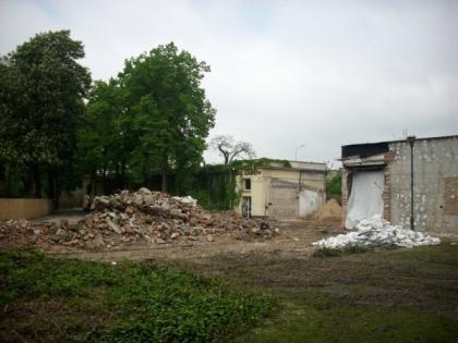 Pawilon zwierząt zmiennocieplnych w Starym ZOO w budowie