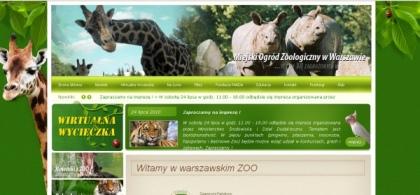 Strona warszawskiego ZOO