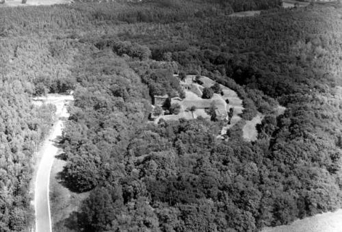 Tak prezentował się Fort III w 1970 roku (fot. Zoo Poznań)