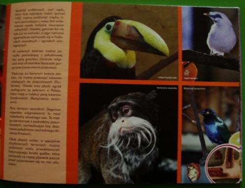 Wypis z przewodnika po oliwskim zoo - opis mieszkańców zoo