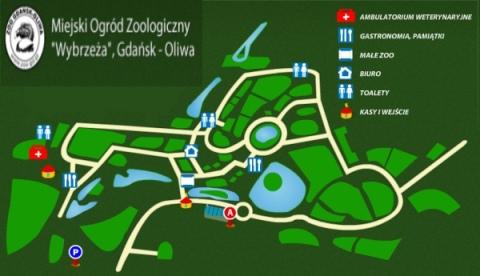 Toalety i punkty gastronomiczne w oliwskim zoo