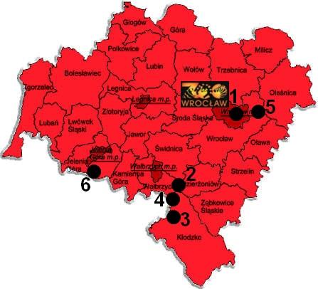 Zwierzyńce województwa dolnośląskiego