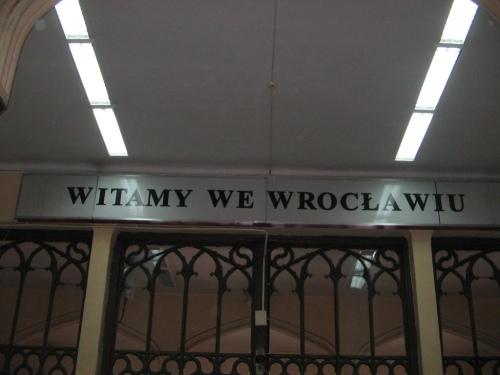 Witamy we Wrocławiu!