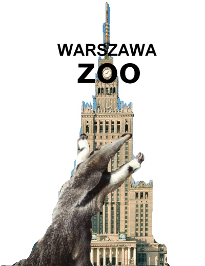 """Nowe logo warszawskiego zoo - propozycja nr 3: Pałac King """"Mrówkojada"""" Konga"""