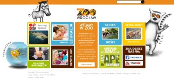 Nowa strona internetowa wrocławskiego zoo