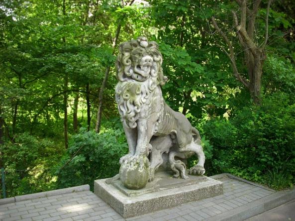 Rzeźba lwa, Zoo Gdańsk-Oliwa