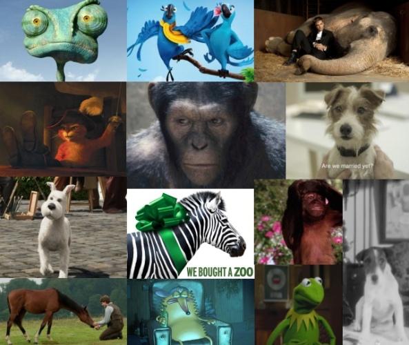 Zwierzaki w kinie A.D. 2011