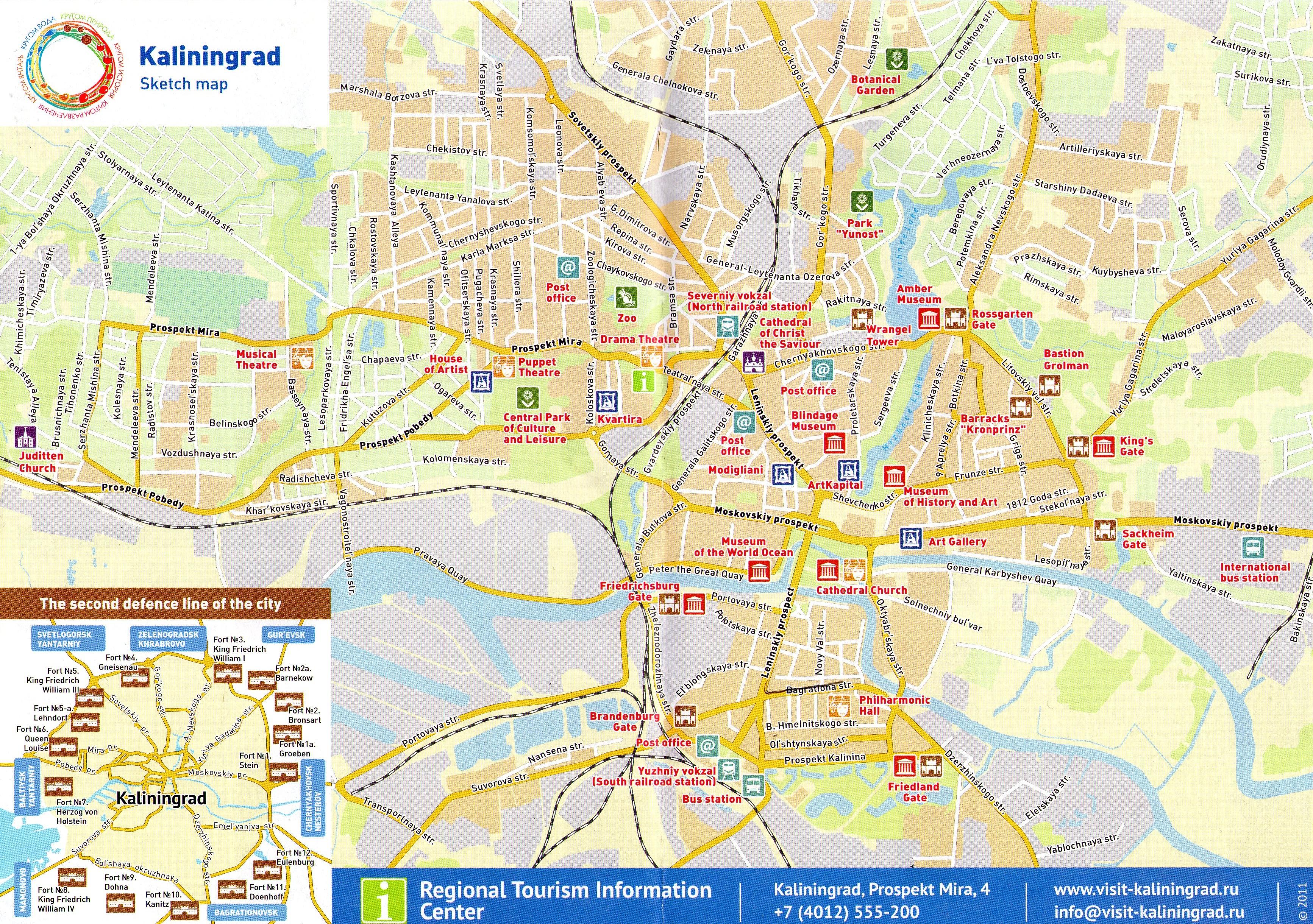 Mapa Plan Miasta Kaliningrad Mrowkojad I Przyjaciele