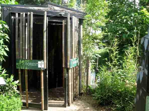 wejście do strefy Gorilla Kingdom