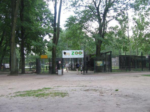Główne wejście do zoo